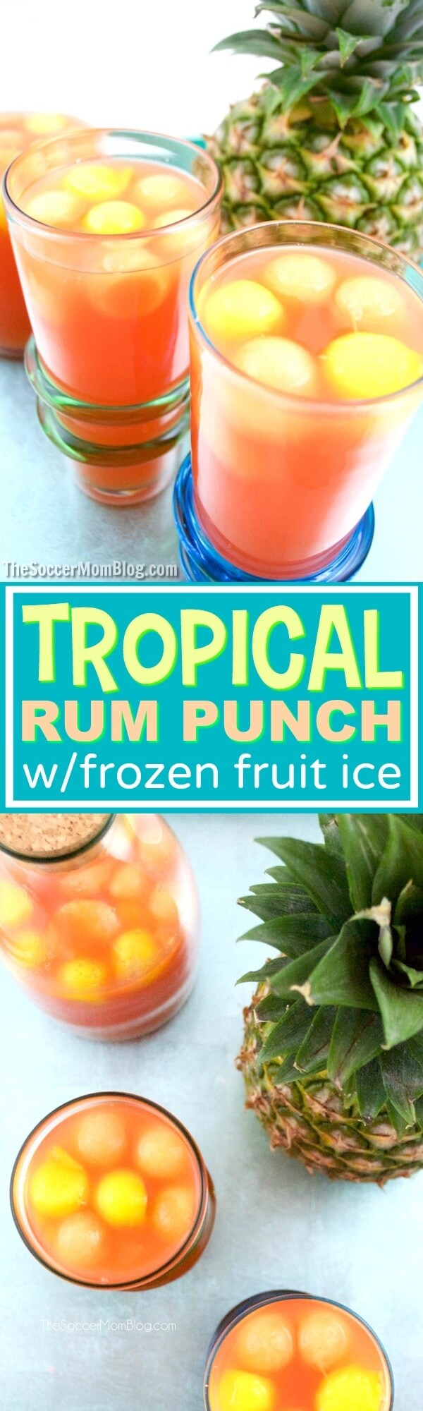 Fruit rum punch recipes parties for Easy cocktail recipes for parties