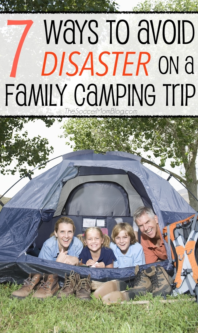 Make lasting memories and avoid preventable disasters with these 7 must-remember camping tips for your family camping trip.