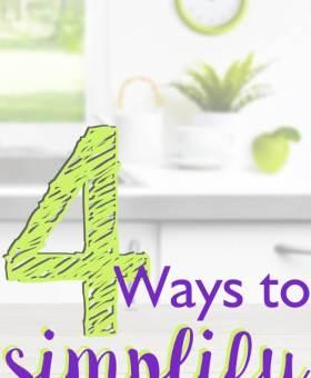 4 Easy Ways to Simplify Housework