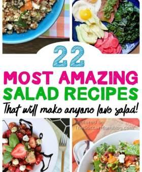 22 Healthy Salad Recipes Guaranteed to Make You LOVE Salads