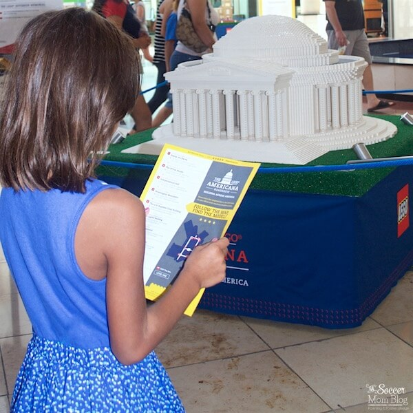 Experience some of the most important historical US monuments...made entirely with LEGOS! Look for the LEGO Americana Roadshow at a mall near you!