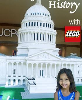 Experience History with the LEGO Americana Roadshow