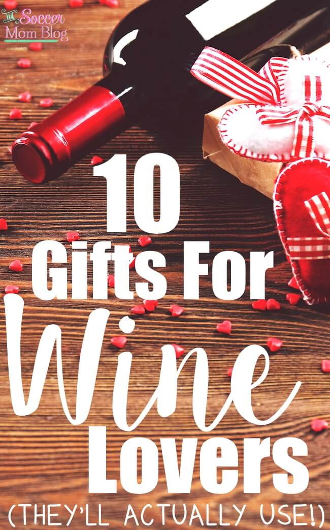 Gifts for wine lovers that are anything BUT boring! As a former working sommelier, these are some of my favorite things! (They're actually useful!!)