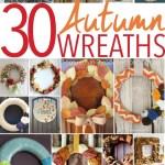 30 Fabulous DIY Fall Wreaths