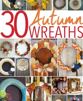 30 Fabulous DIY Fall Wreaths