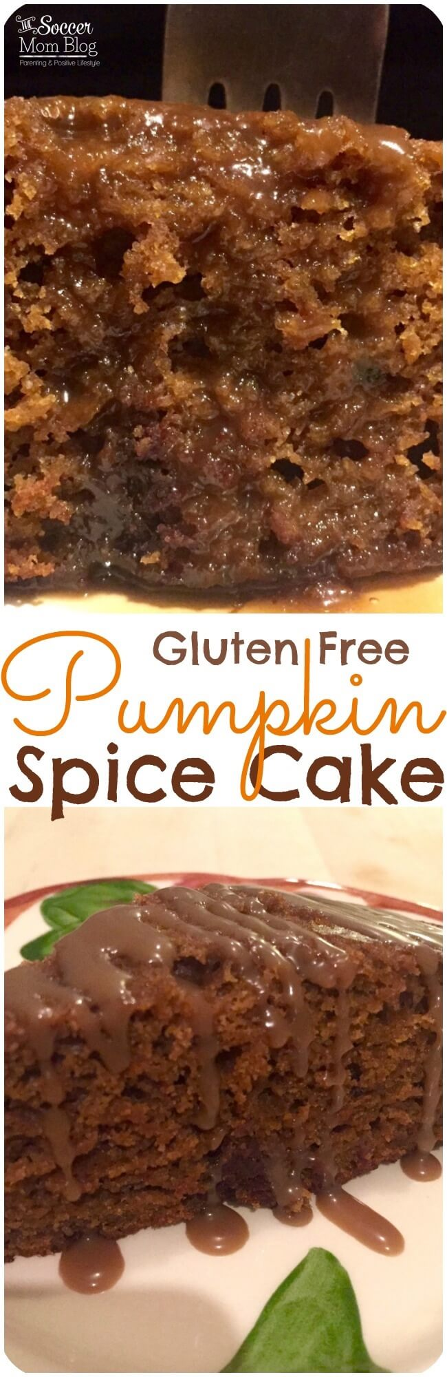 The most decadent, moist cake I've ever tried...and it's healthy! Gluten free pumpkin spice cake is a pumpkin-lovers dream! Perfect for Thanksgiving!