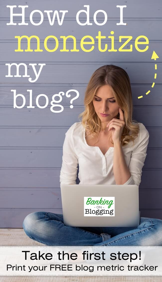 "You CAN monetize your blog, but relying on hope alone won't get you there! Learn the ""missing pieces"" that are holding you back from making money blogging. Get a free printable blog metrics tracker to help you get started!"