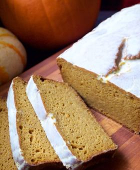 Better than Starbucks Pumpkin Loaf (Gluten Free)