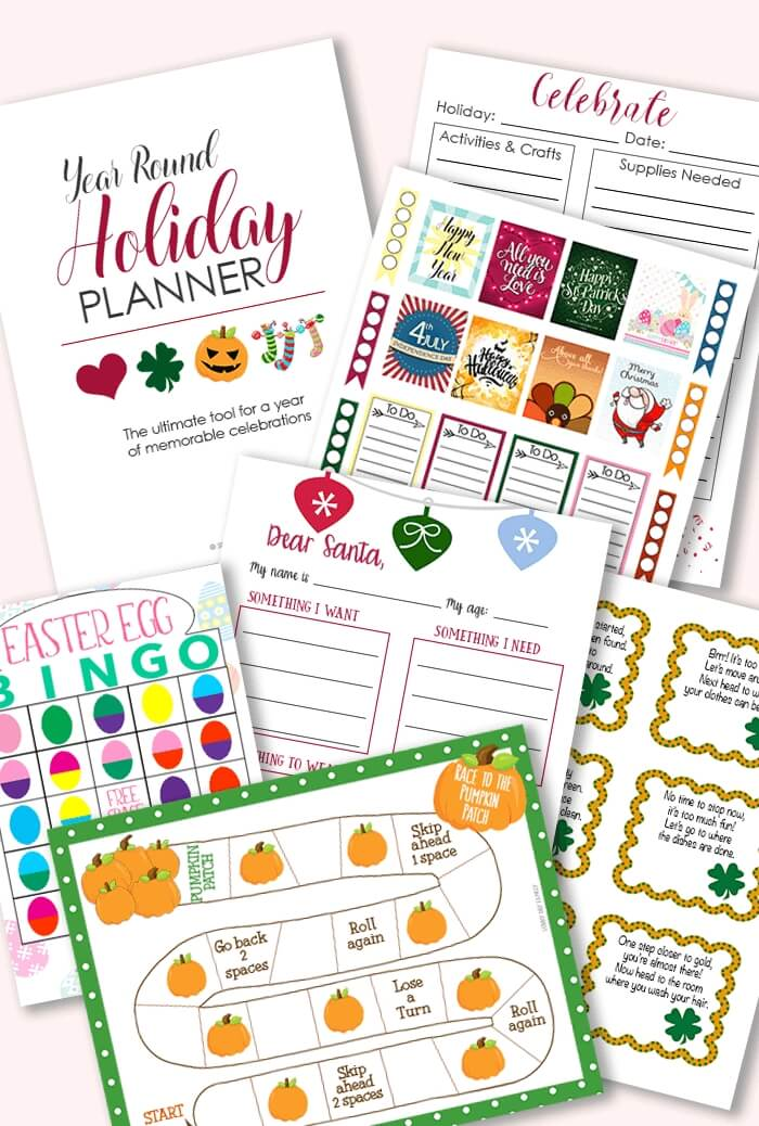 family holiday planner