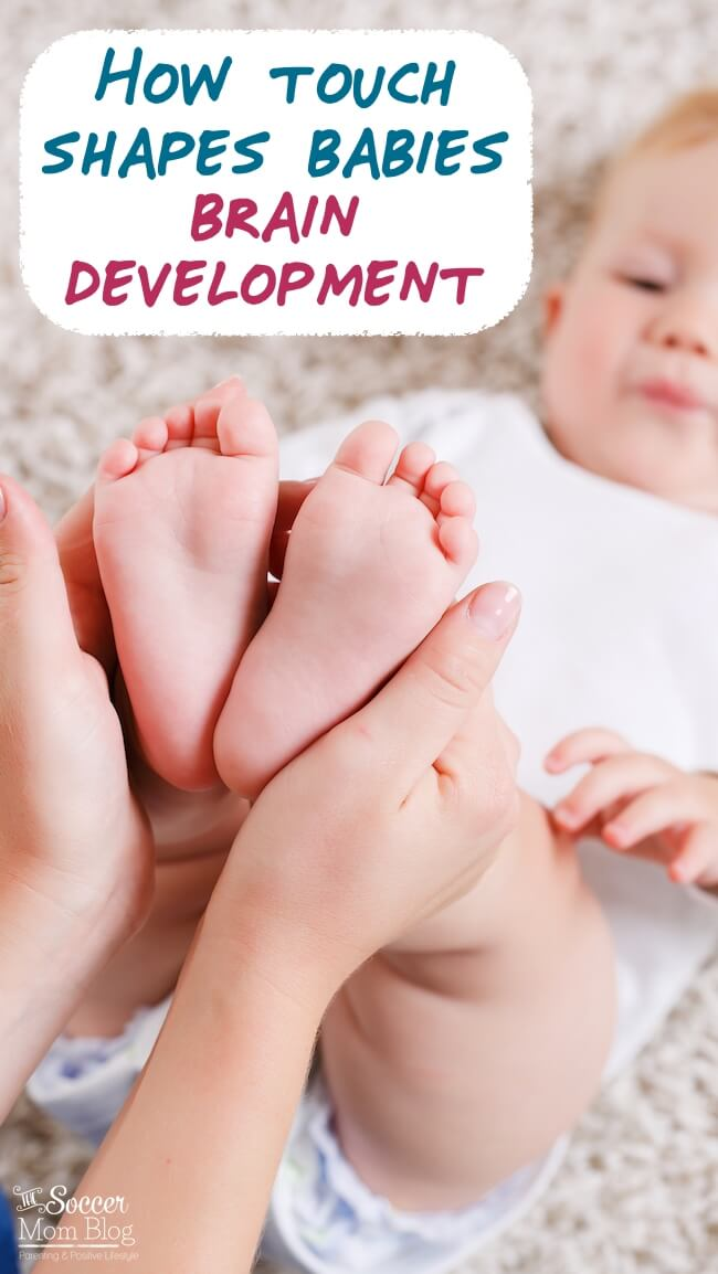 Did you know touch is the first sense babies develop? How early touch is crucial for brain development, may reduce crying, help sleep, and increase bonding. Tips for simple, but effective touch therapy at home.
