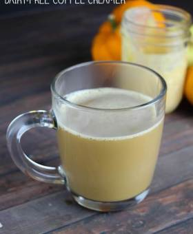 Healthy Homemade Pumpkin Spice Latte Recipe