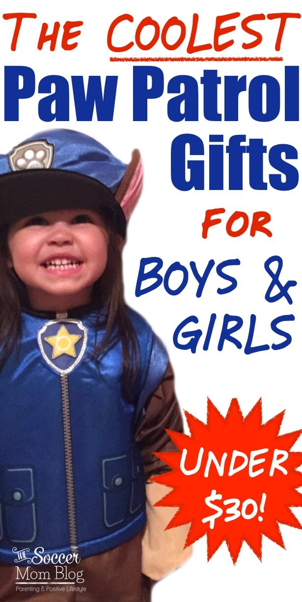 Fun and affordable gifts for your little Paw Patrol fans! Paw Patrol gifts for boys and girls.