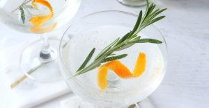 "Move over Mimosas! This Rosemary Orange Vodka Spritzer is the new fizzy ""IT"" drink in town! A refreshing brunch or holiday cocktail with only 3 ingredients."
