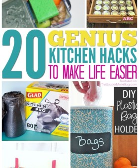 20 Genius Kitchen Hacks that will Make Your Life Easier