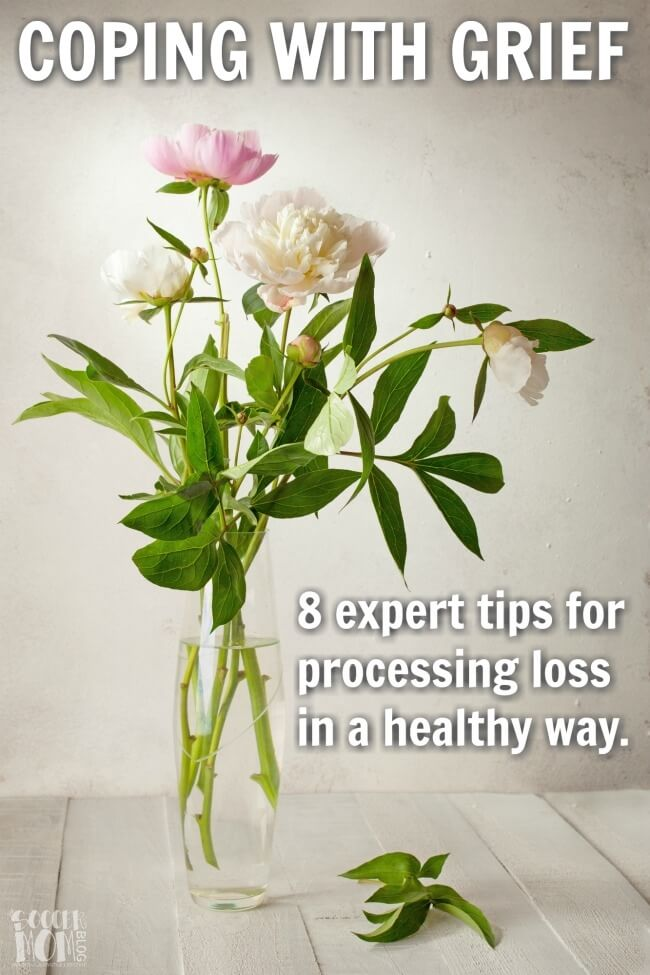 Losing a loved one is a difficult part of life, and grief can be overwhelming. 8 tips from counseling professionals for coping with loss in a healthy way.