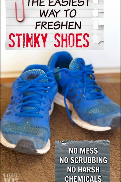 2 Easy Steps to Eliminate Shoe Odor