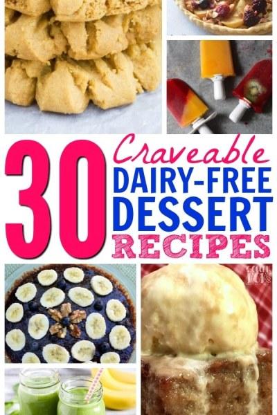 30+ Delicious Non Dairy Desserts