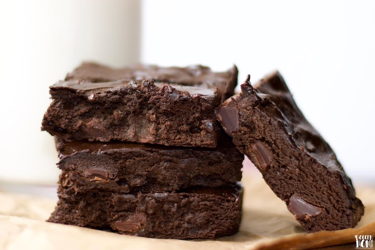 Chocolate Avocado Brownies (Gluten Free)