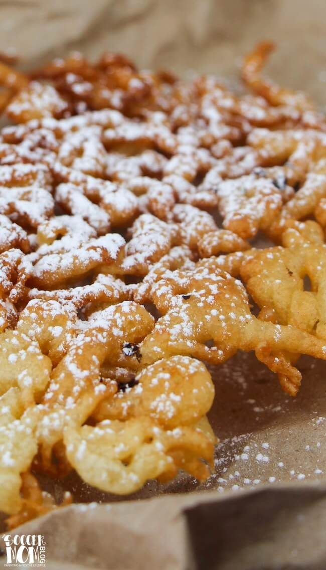 A classic funnel cake recipe that's crispy on the outside and soft and fluffy on the inside...you'd never believe they're actually gluten free!
