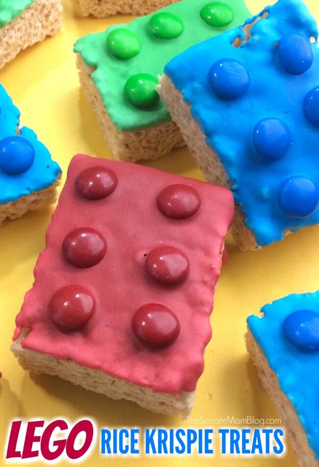 LEGO Rice Krispies Treats - The Soccer Mom Blog