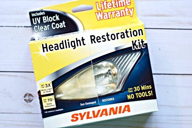 Dim or yellow headlights make it harder to see the road at night. Make your headlights brighter (and car safer) in minutes with this easy DIY guide.