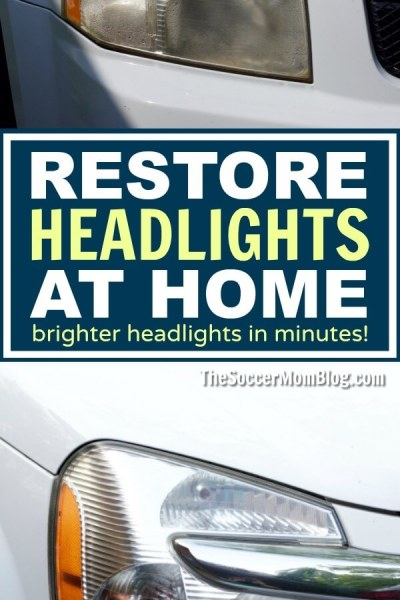 How To Make Your Headlights Brighter In Minutes At Home
