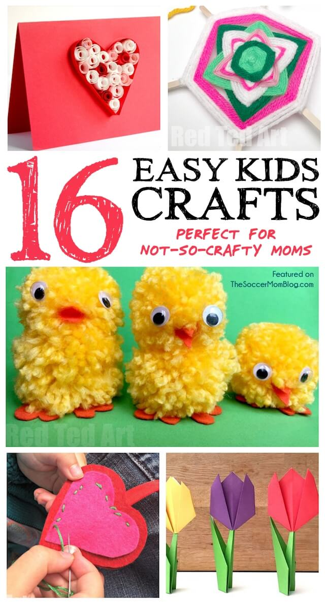 16 easy crafts for