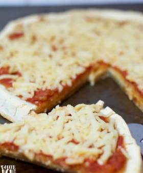Easy No-Rise Gluten Free Pizza Dough Recipe