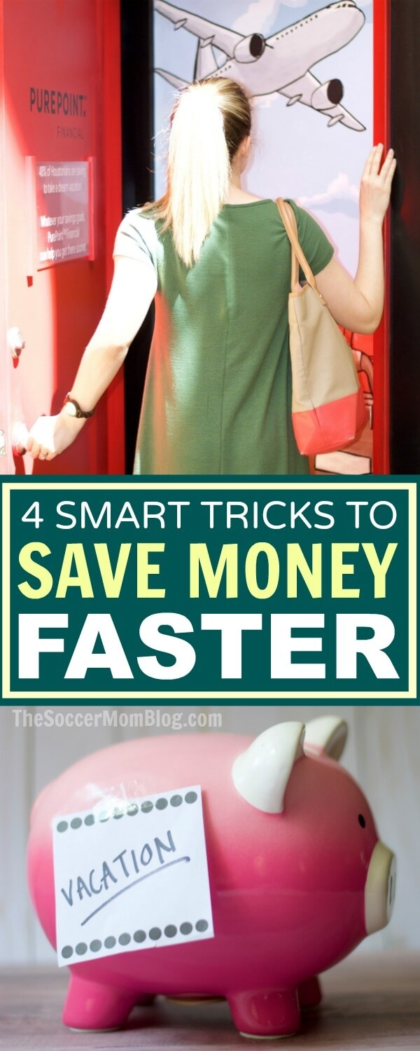 Where your put your money makes all the difference in how fast it grows! How to choose the best savings account + 4 tricks to save money faster.