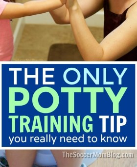 Potty Training Tips – Ignore them All Except THIS One!