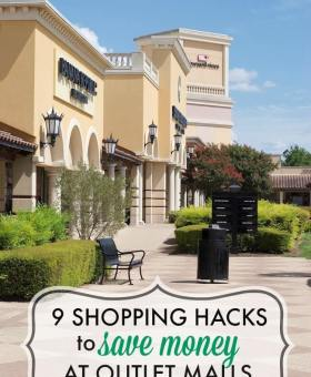 How to Save Maximum Money at Outlet Malls & Factory Stores