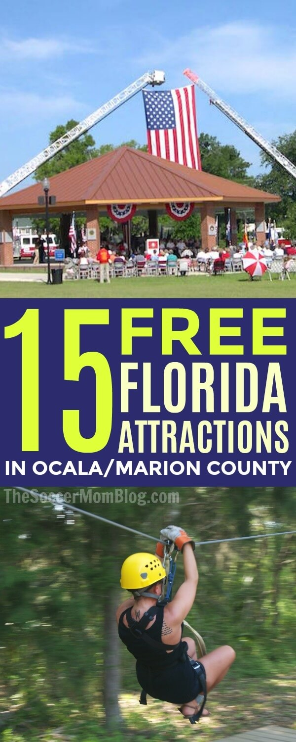 Free Things To Do in Florida for Families (Ocala/Marion County ...