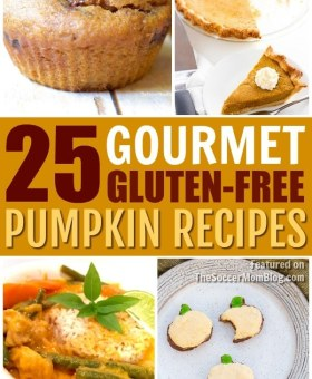 "25 Gluten Free Pumpkin Recipes that are Better than the ""Real Thing"""