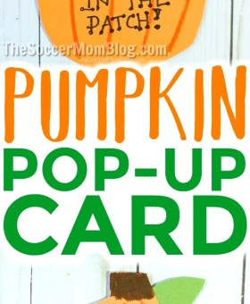Pop-Up Photo Pumpkin Card for Kids