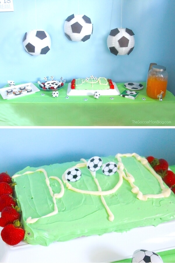 Celebrate Your Little Futbol Star With This Easy And Thrifty Soccer Birthday Party Food
