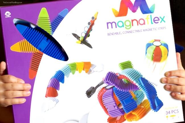 MagnaFlex magnetic flexible construction toys
