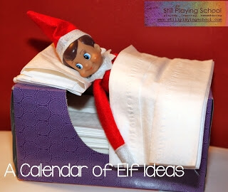 Whether you're looking for inspiration, or just a laugh, this is an awesome collection of over 500 bizarre Elf on the Shelf hiding spots!