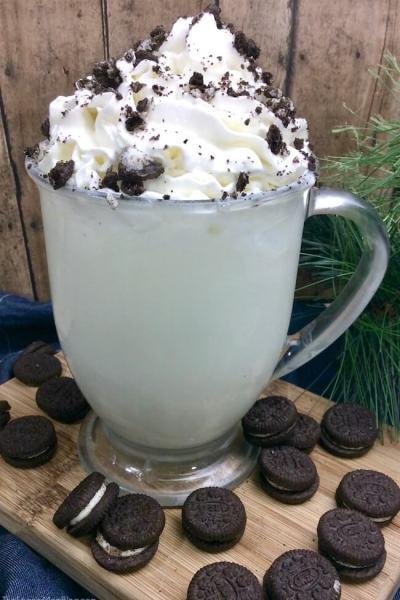 Oreo Creme White Hot Chocolate