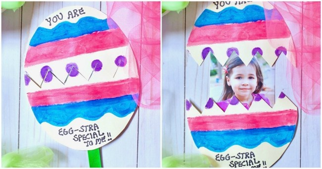 Pop-Up Easter Egg card paper craft for kids