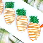 Carrot-Shaped Mini Carrot Cakes