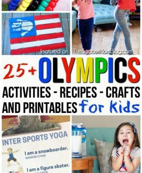 25+ Olympics Activities for Kids to Celebrate the Winter Games