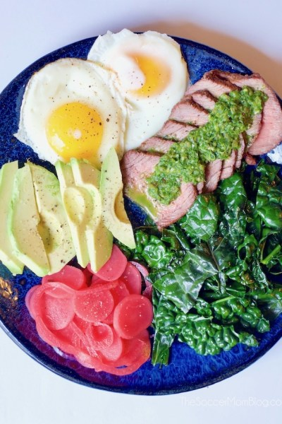 Farmers Market Chimichurri Steak Salad
