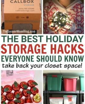 The 7 BEST Christmas Decoration Storage Hacks