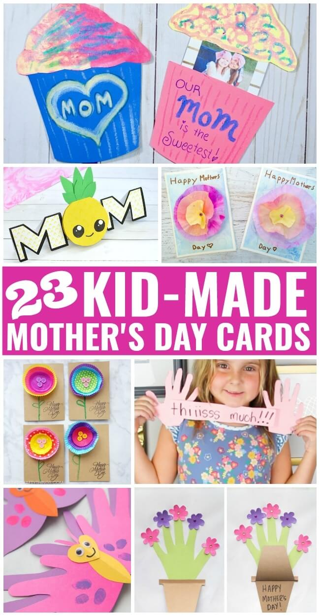 23 homemade mothers day