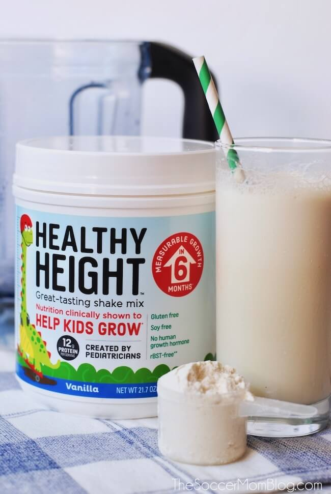 Healthy Height protein shake for kids