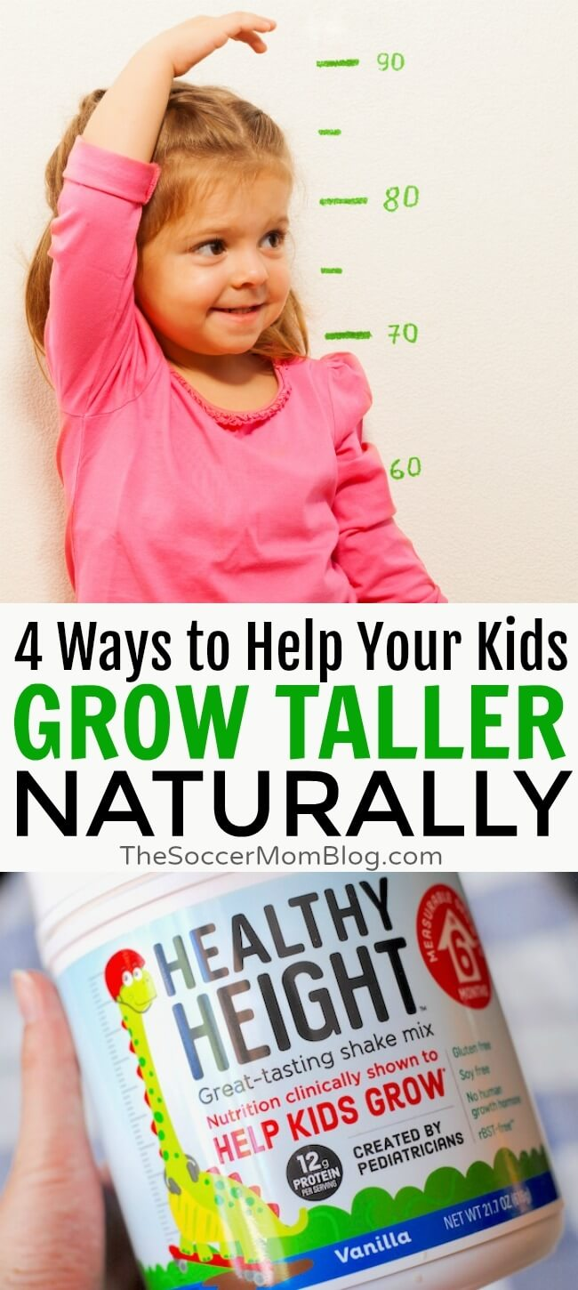 4 safe, natural ways to promote healthy development and help your child grow taller in 6 months (without hormones or medical procedures)