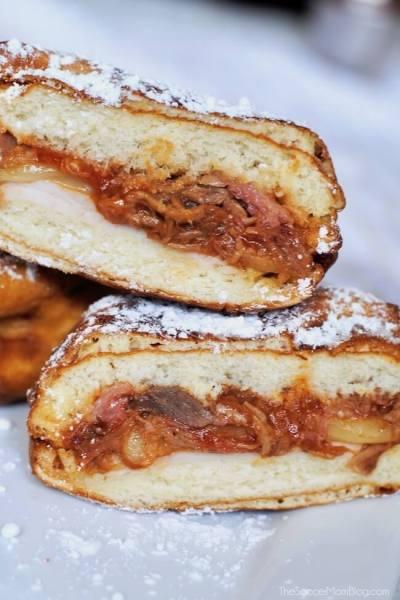 Mini Monte Cristo Sandwich