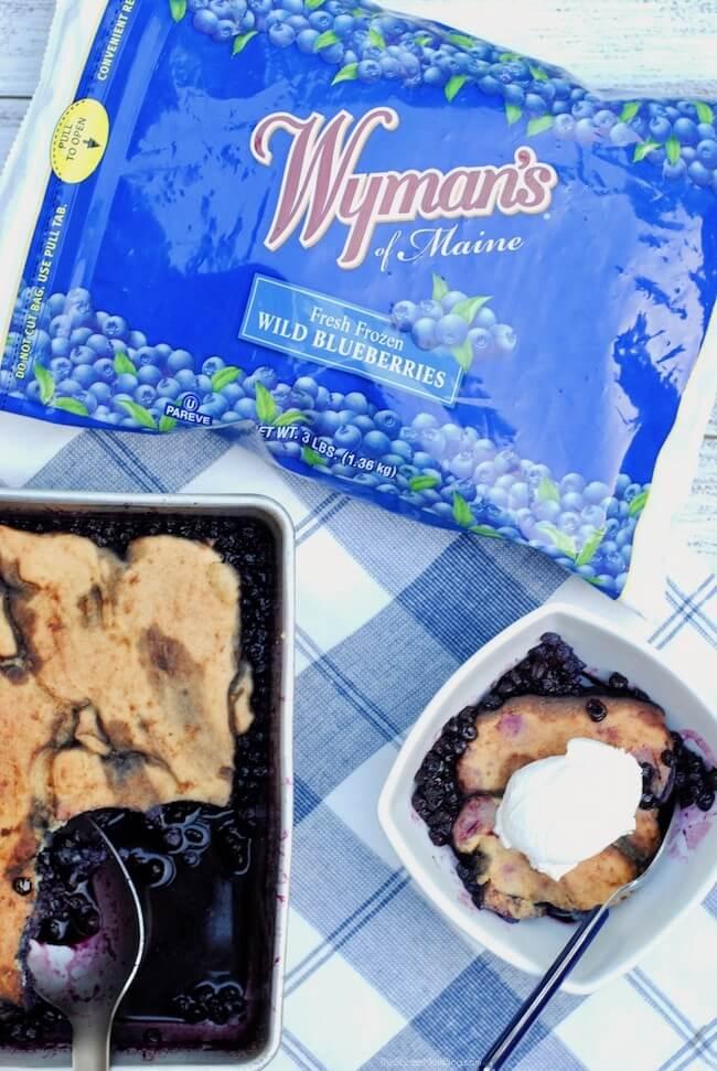 Wyman's of Maine wild blueberries in package