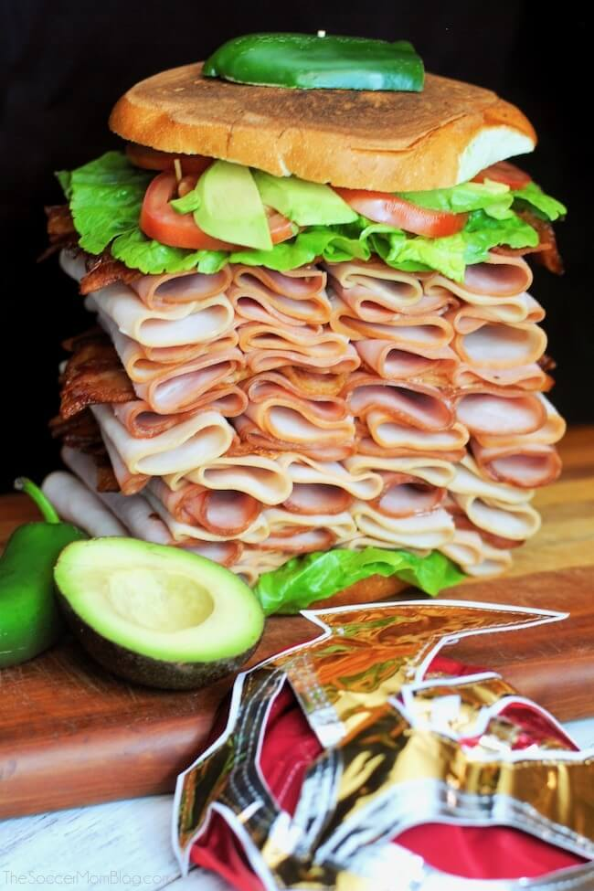 """Now THIS is a sandwich! """"El Gigante"""" is a true hero when it comes to busting hunger...or your classic Mexican ham torta cravings!"""