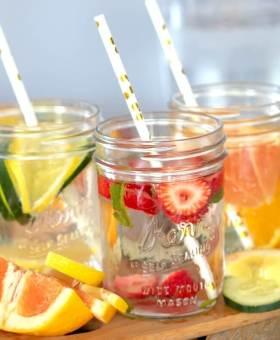 Fruit Infused Water (3 Ways)